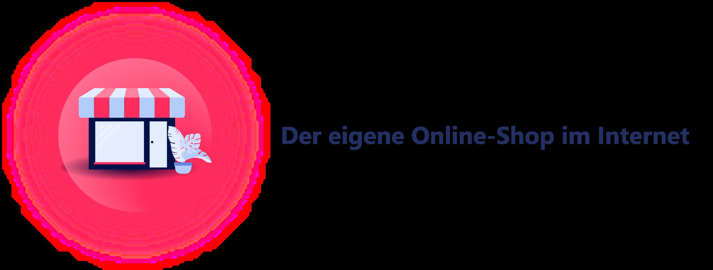 Darstellung - Der eigene Webshop im Internet